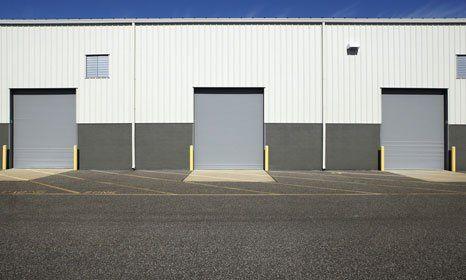 Industrial Sectional Doors Repaired In Cumbria