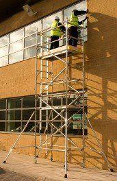 PASMA scaffolding