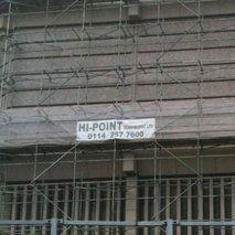 external scaffolding