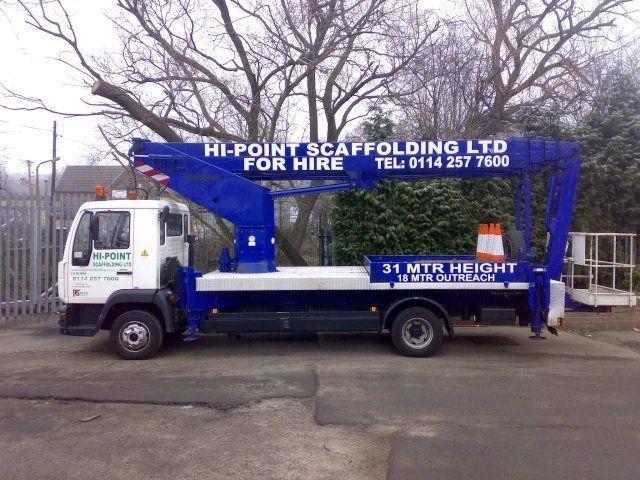truck access scaffolding