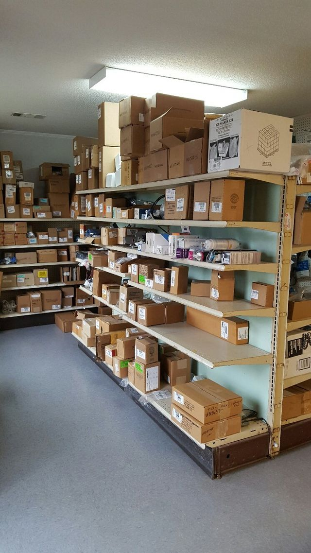 Appliace parts in the store