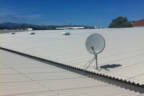 Experts discussing roof repairs in Wellington