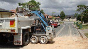 Bobcat and Excavator 4 in 1 bucket
