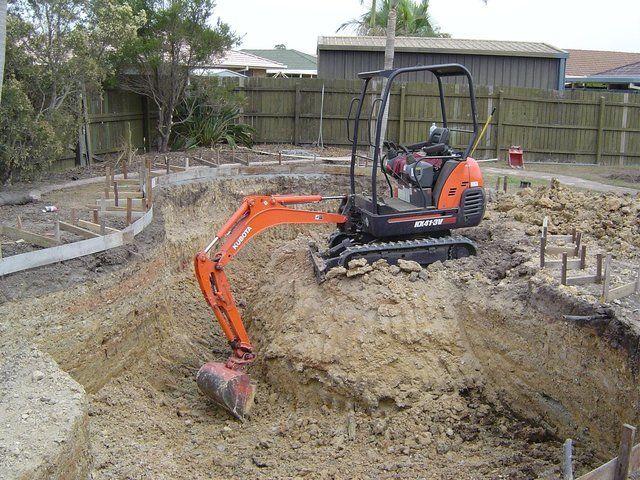 Tight Access Excavations Gold Coast   Micro Excavations