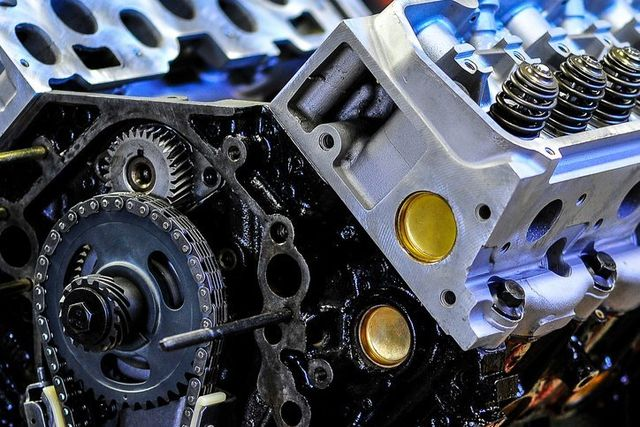 Truck motor