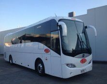 Sophisticated and well maintain charter bus in Gold Coast