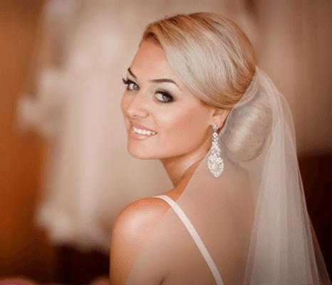 Wedding Hair Makeup Bride