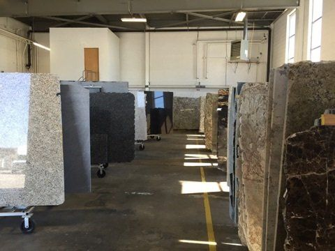 Buffalo Granite And Marble Inventory Display In Ny