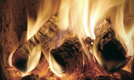 log burning