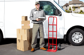 courier delivery personnel