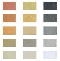 Colour palette for warmer tones