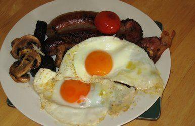 fresh hot breakfast