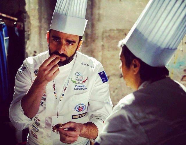 Chef Daniele Caldarulo