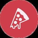 Icona della pizza al Ristorante Pizzeria Elegance IT-RO a Trento