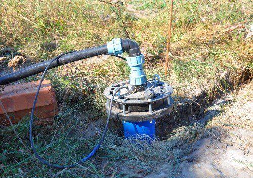 costruzione di un pozzo