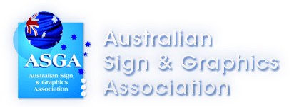Member of Australian Sign and Graphic Association