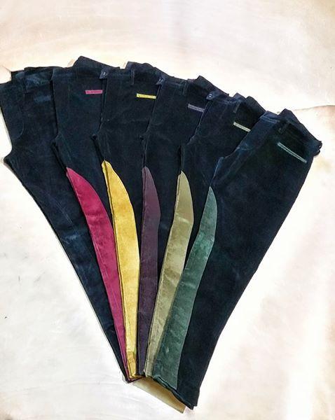 pantaloni equitazione di diversi colori