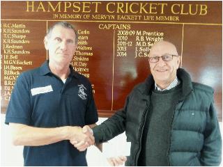 Cannon Clarke Ltd – Main Sponsors to Hampset Cricket Club 2015