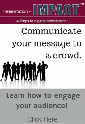 Effective Presentations - Get your message heard and understood.