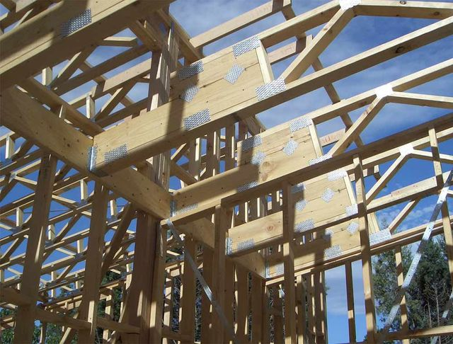 Timber roof trusses in Melbourne