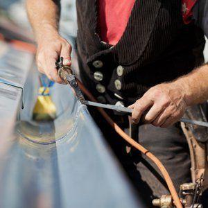 gutter pipe repair