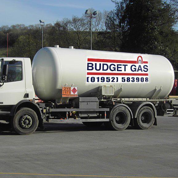 Budget gas truck