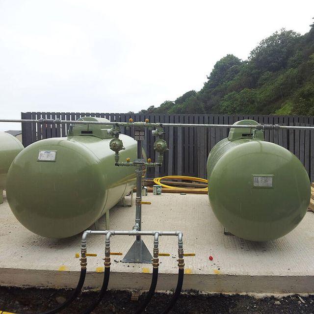 gas filling station machine