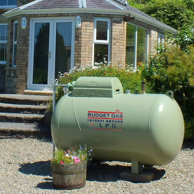 LPG gas Tank installation