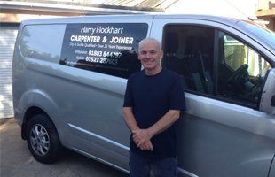 Harry Flockhart service van