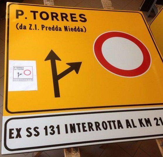 cartello stradale