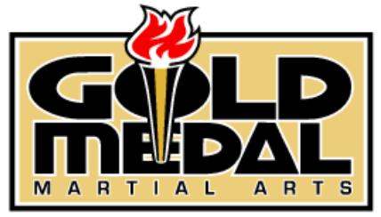Gold Medal Martial Arts Logo