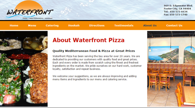 Waterfront Pizza - Foster City