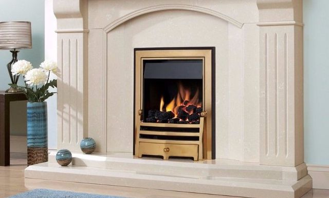 Energy efficient gas fires