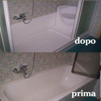 doccia prima e dopo