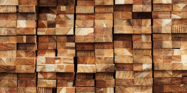 Variety of timber