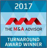M&A Advisor Turnaround Award Winner 2017