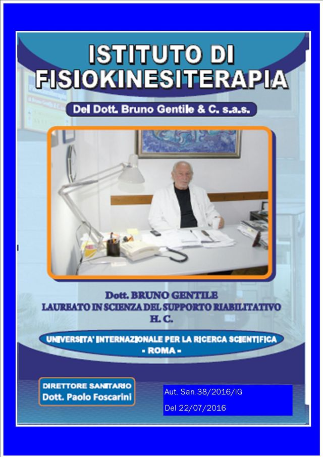 flyer istituto di fisiokinesiterapia