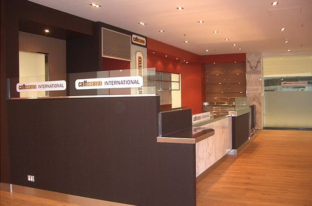 Caffissimo Custom Cabinetry