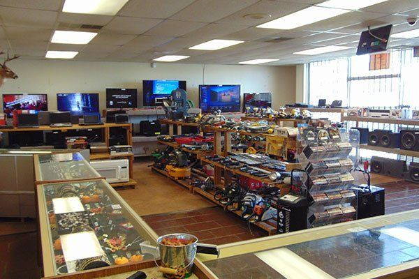 Inside the pawn shop electronics tools