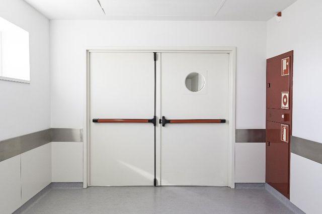 Emergency exit in hospital