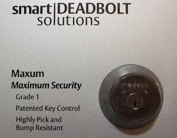 Smart Deadbolt locks from Medeco