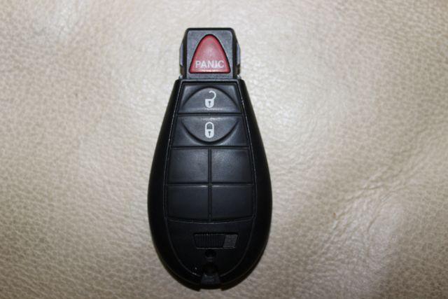 Remote car key transponder