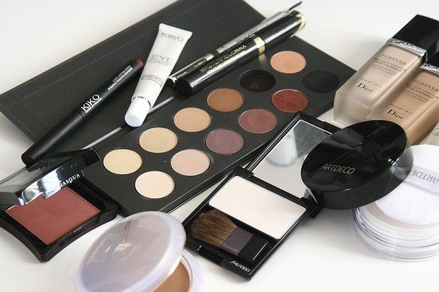 Image of various types of makeup