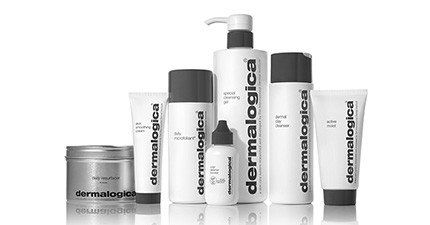 Image of a series of Dermalogica skincare products