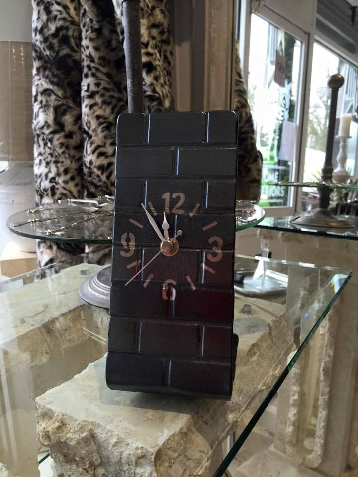 clock glassware