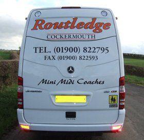 Private Coach - Whitehave - Ken Routledge Travel Ltd. - Coach Hire