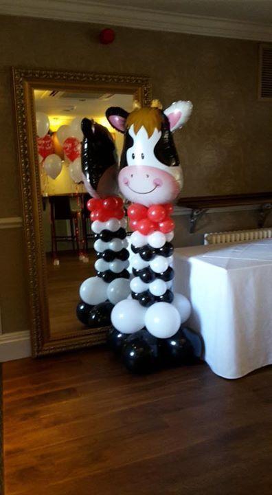 cartoon shaped balloons