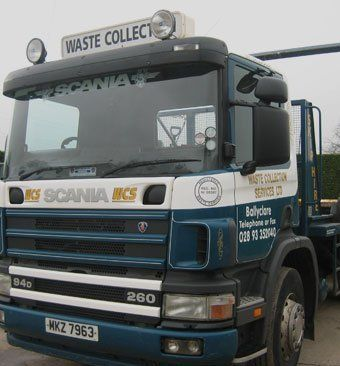 SCANIA truck for waste disposal