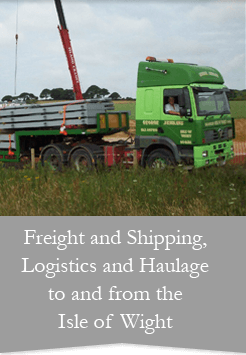 Logistics, Shippong, Freight, Isle Of Wight, George Jenkins Transport Ltd