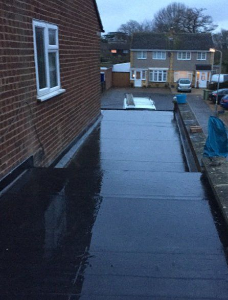 flat roof installations